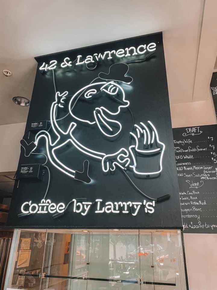 42 & Lawrence signage