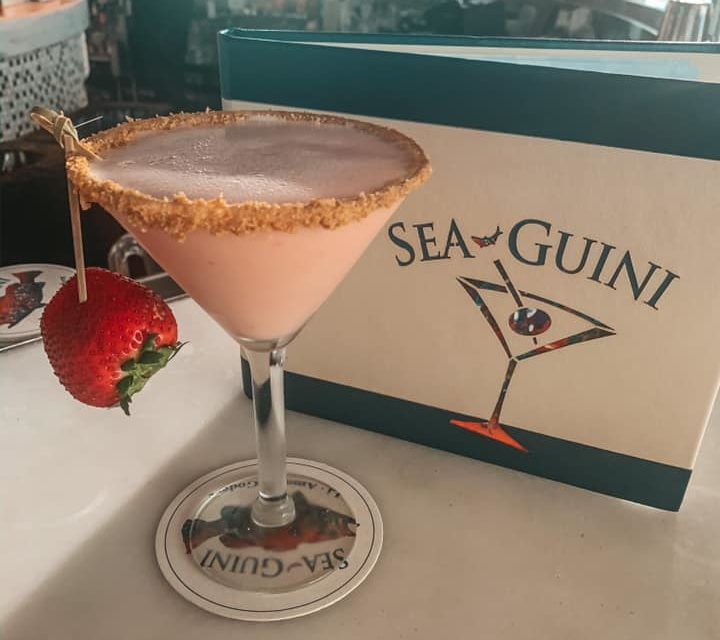 Best Beach Bar Clearwater Beach Opal Sands best martini the strawberry shortcake