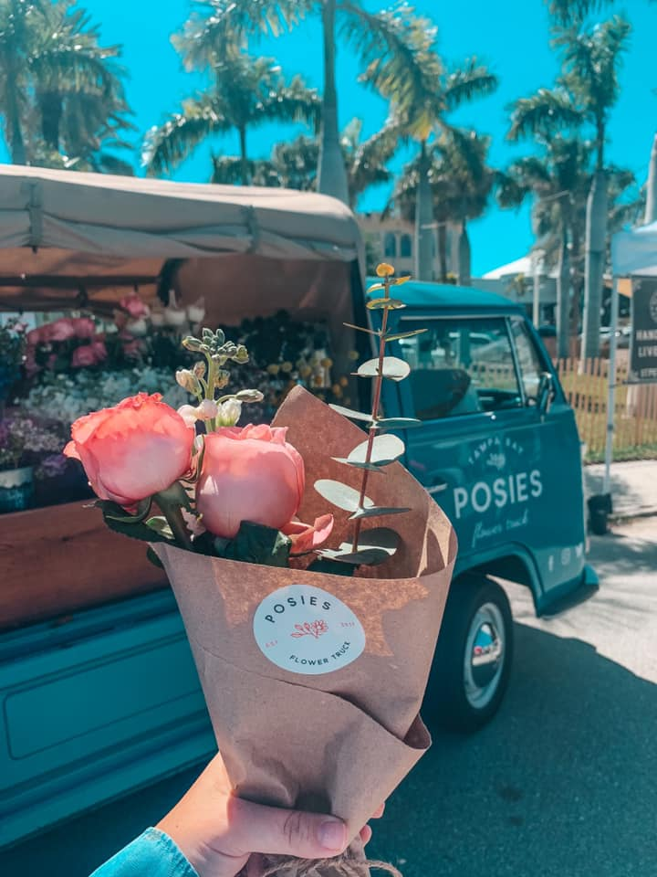 Self made bouquet from Posie's Flower Truck