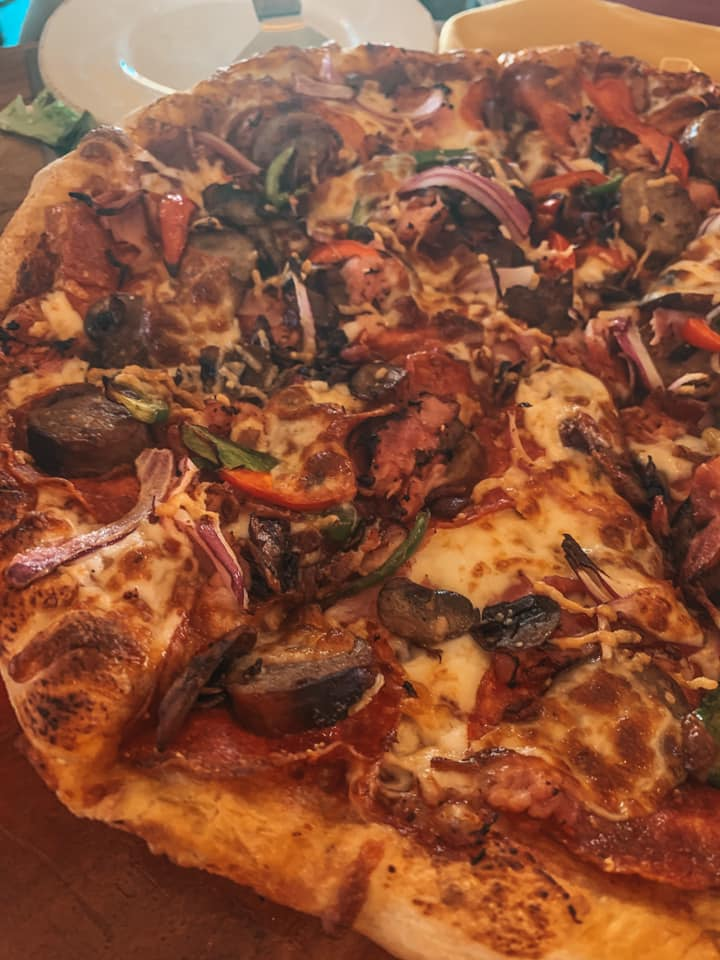 pizza from brewhouse terminal