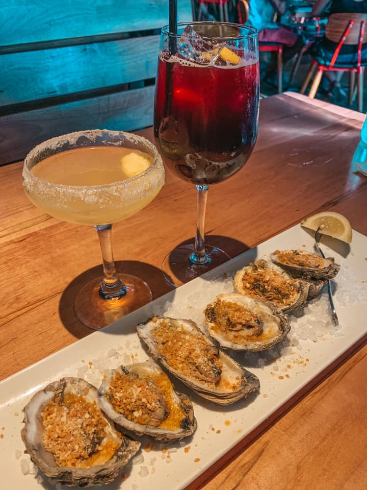 Oysters and cocktails from Stir Chattanooga