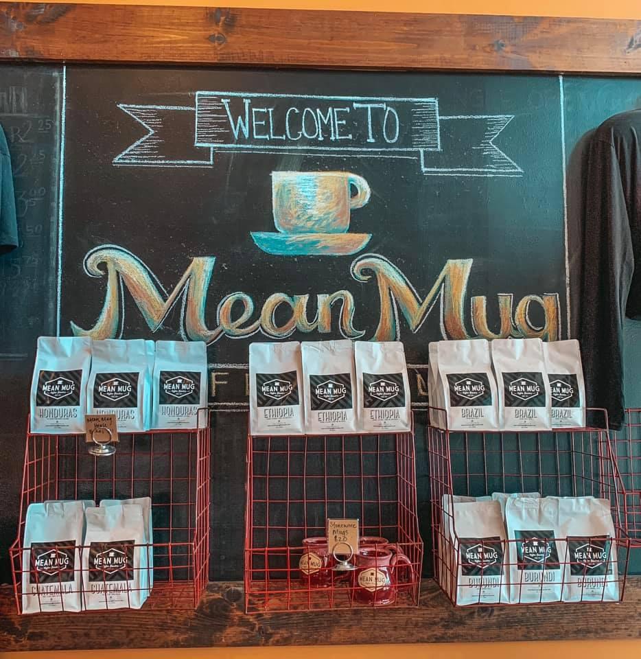 Mean Mug signage