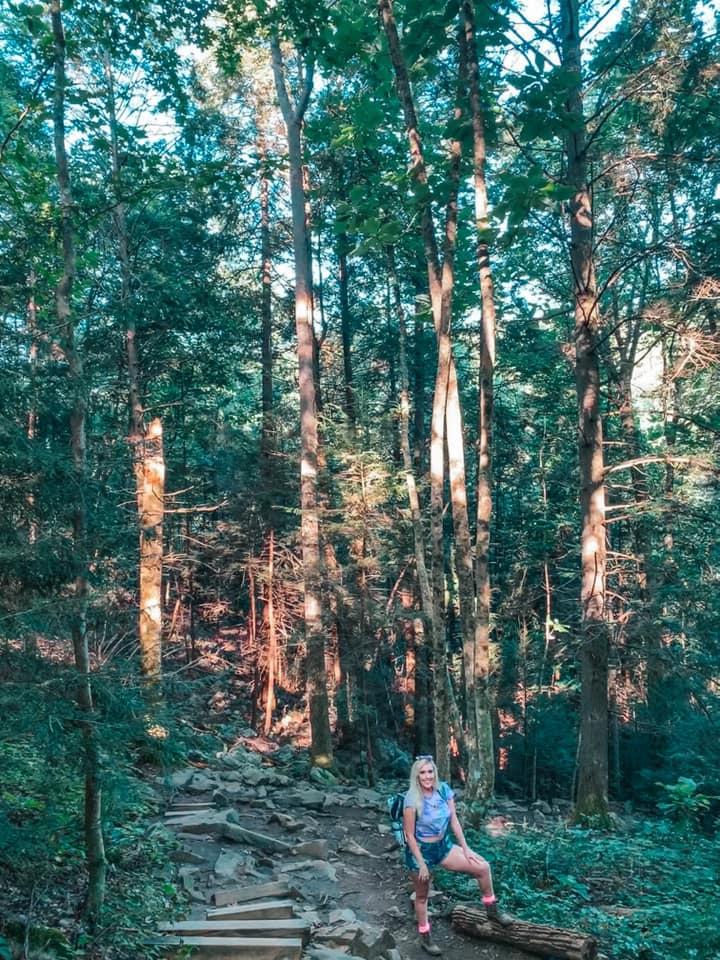 Enjoying Tennessee's Foster Falls hike