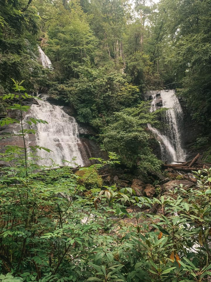Anna Ruby Falls waterfalls