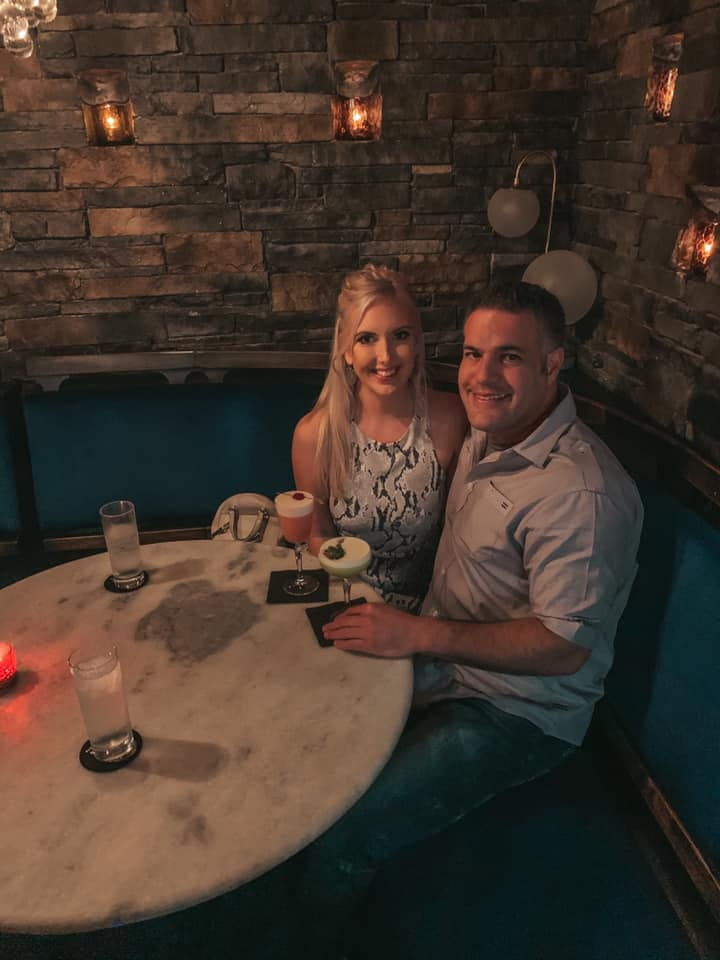 Couple enjoying craft cocktails at Ciro's in Tampa