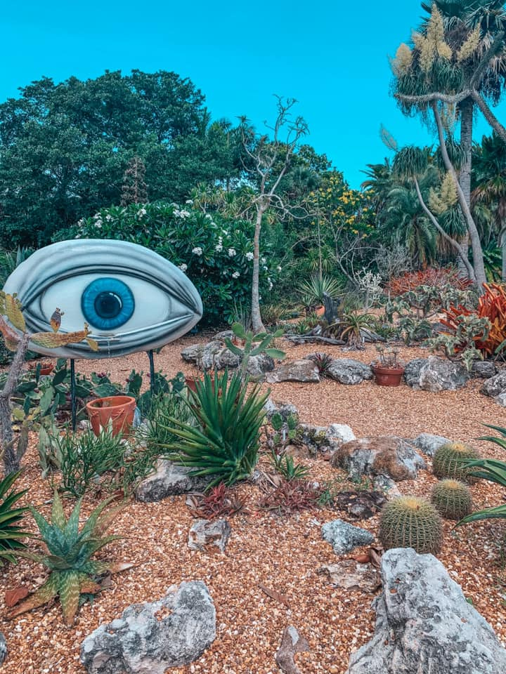 Dali exhibit at Marie Selby Gardens