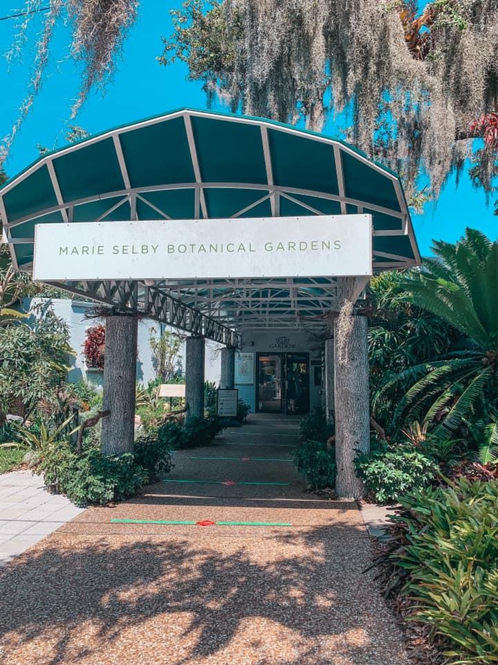 Marie Selby Botanical Garden entrance