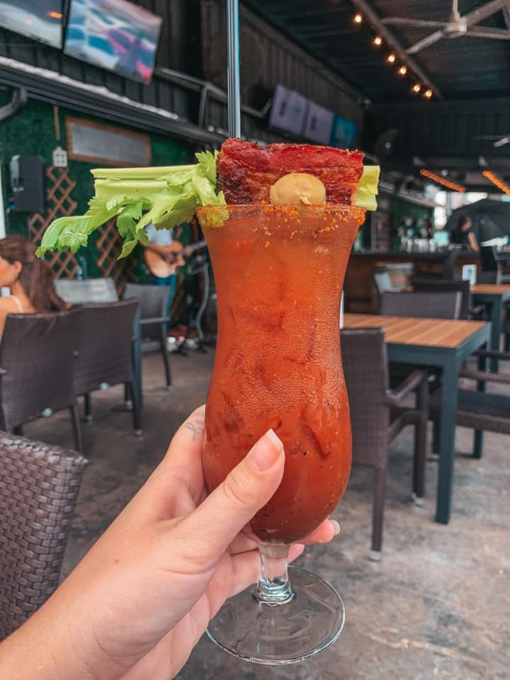 C House Seminole Heights bloody mary