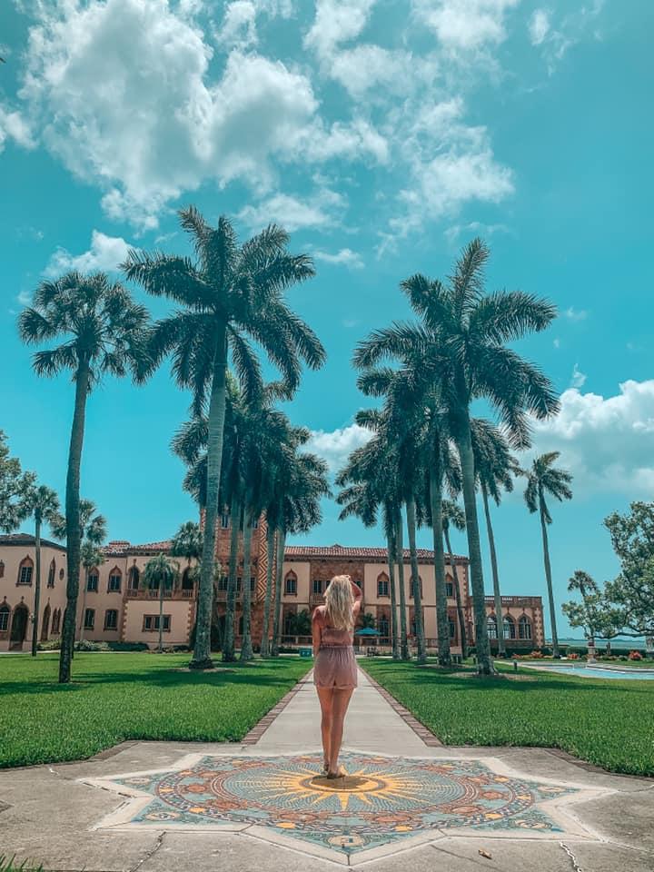 Ringling Mansion in Sarasota