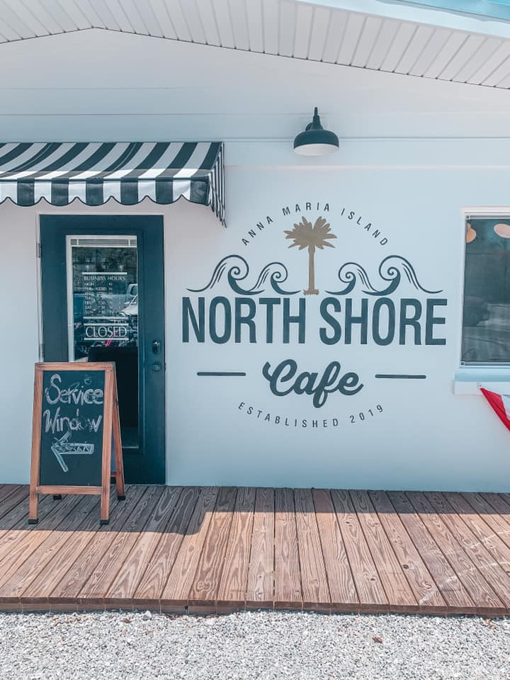 North Shore Cafe entrance in AMI