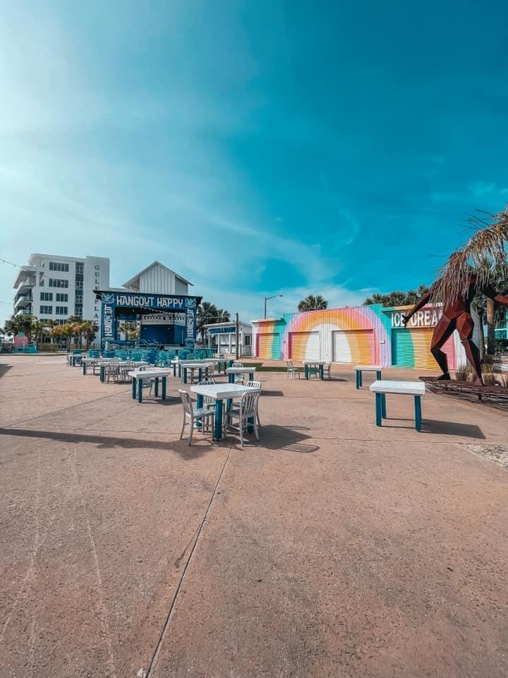 The Hangout venue outdoor area