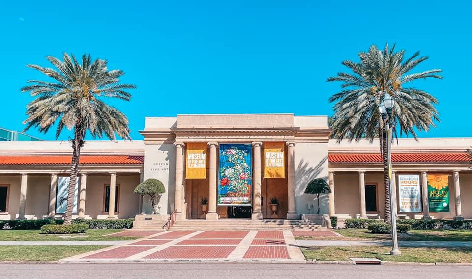 Museum of Fine Arts in Downtown St. Petersburg