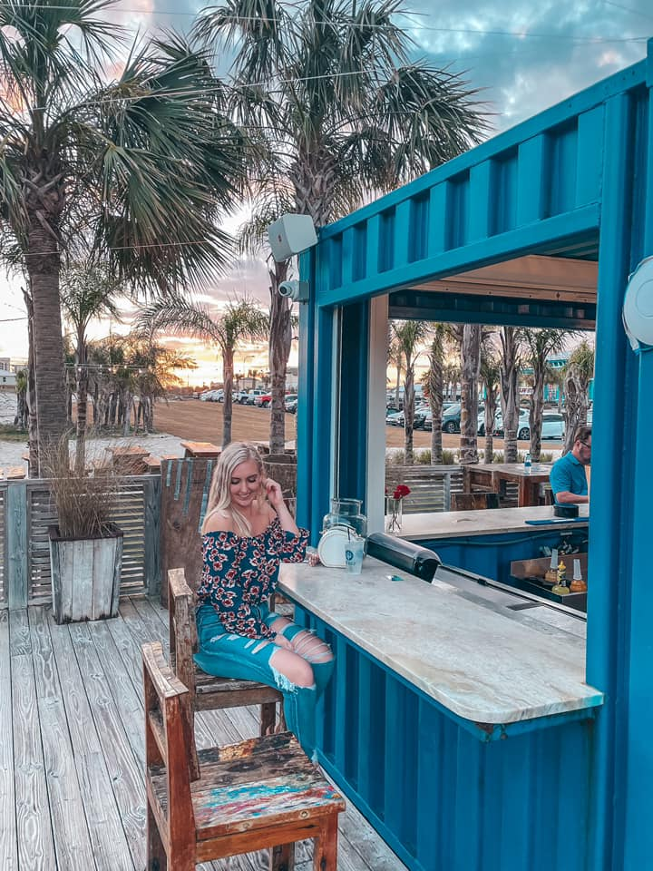 Bar area at The Gulf