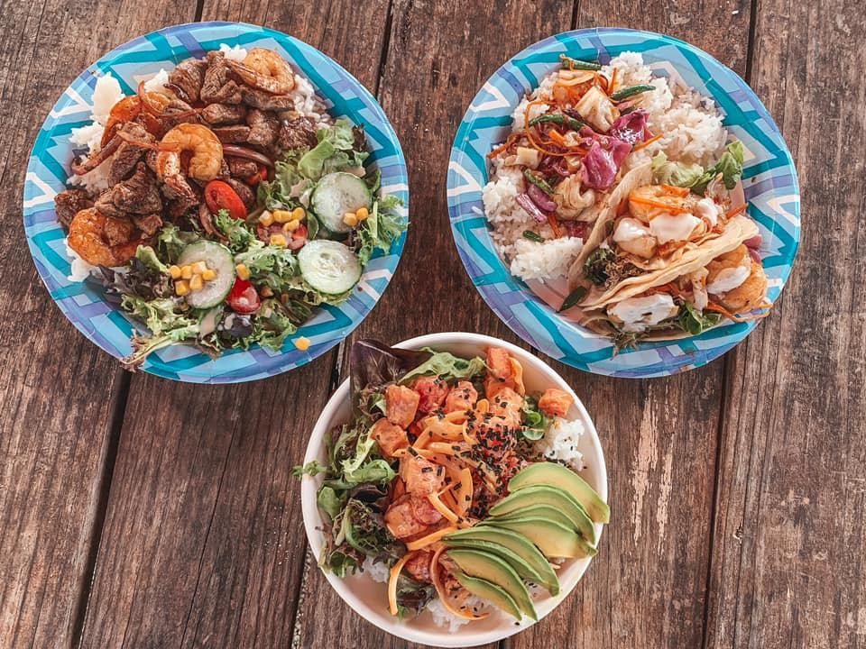 Bowls from Aji Limo Food Truck