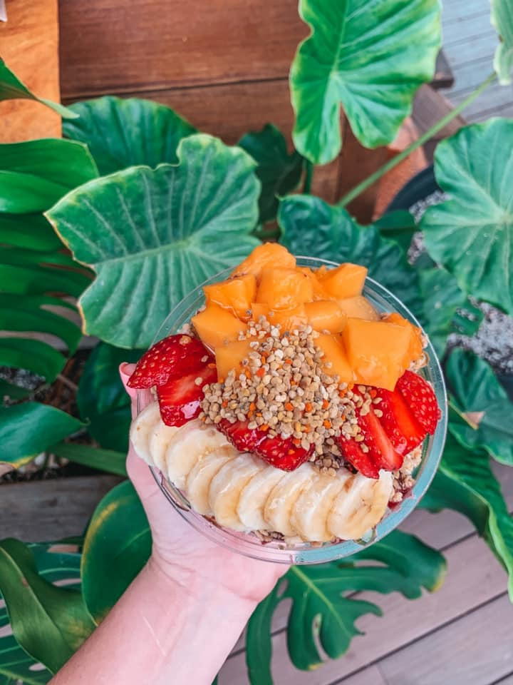 best acai bowl north shore from Haleiwa Bowls