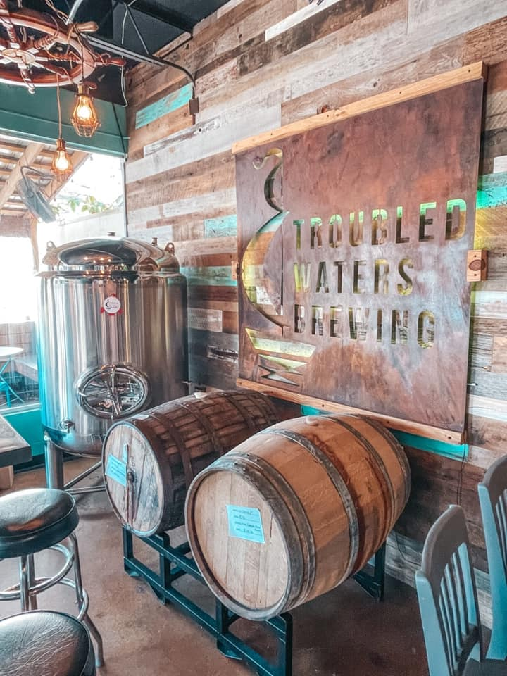 Troubled Waters Brewing taproom